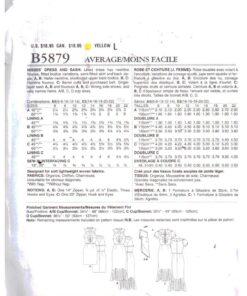 Butterick B5879 1