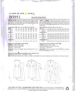 Butterick B5951 1