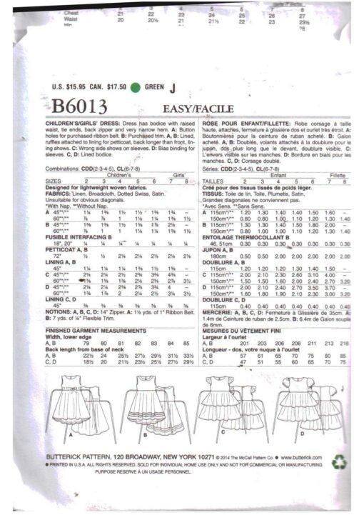Butterick B6013 1