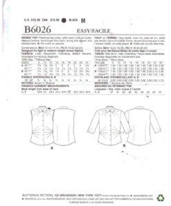 Butterick B6026 1