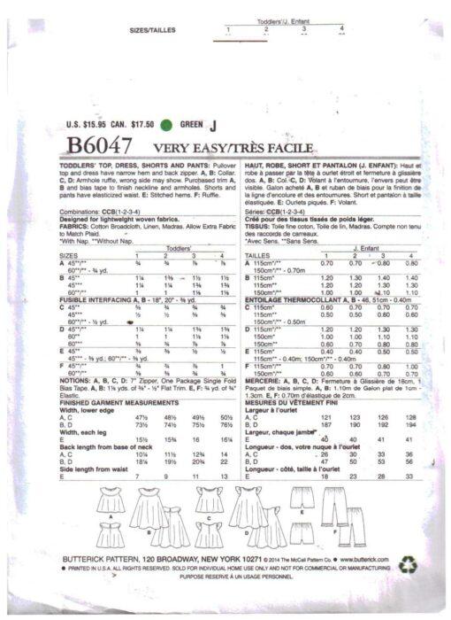 Butterick B6047 1