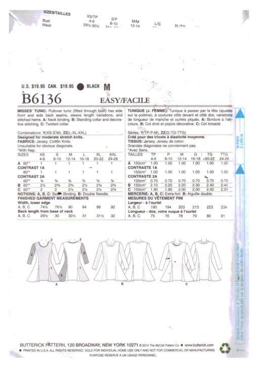 Butterick B6136 1