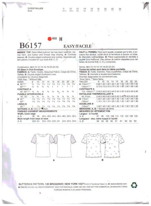 Butterick B6157 1