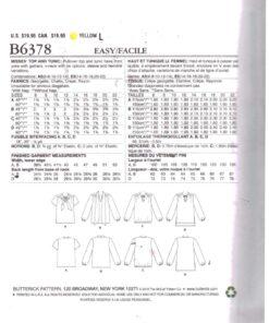 Butterick B6378 1