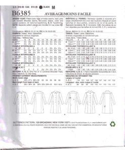 Butterick B6385 1