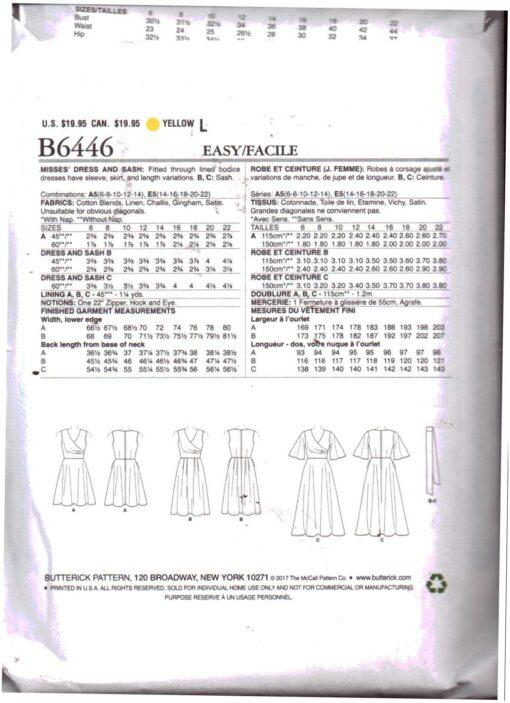 Butterick B6446 1