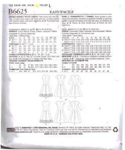 Butterick B6625 1