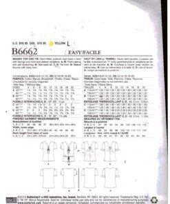 Butterick B6662 1