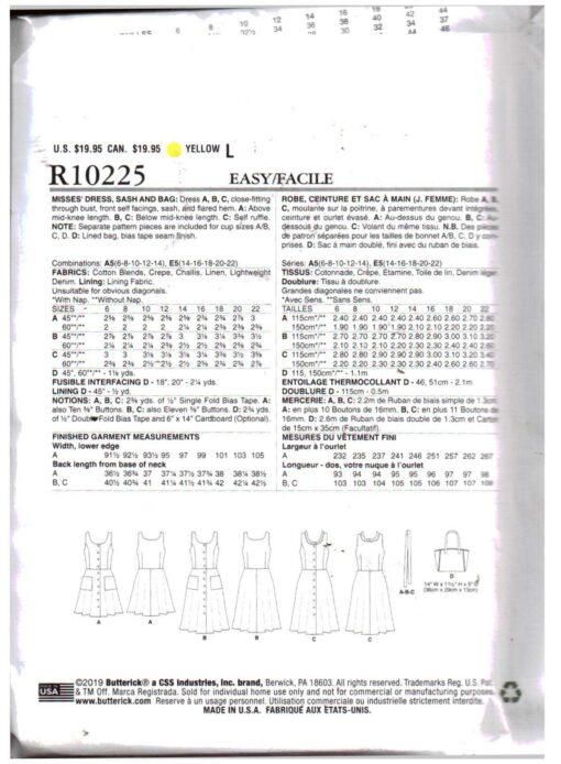 Butterick R10225 1