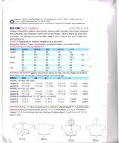 Kwik Sew K4130 1