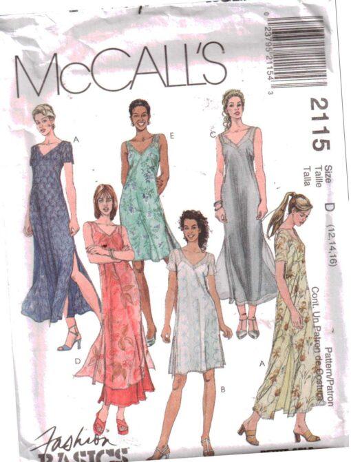 McCalls 2115