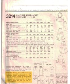McCalls 3214 1