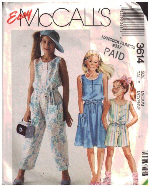 McCalls 3614