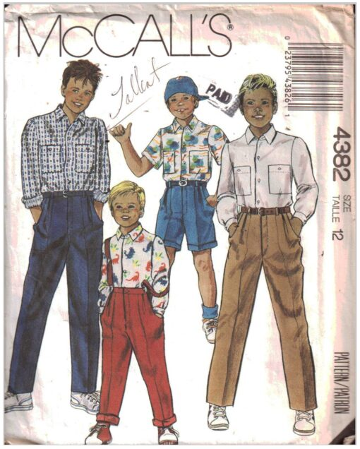 McCalls 4382