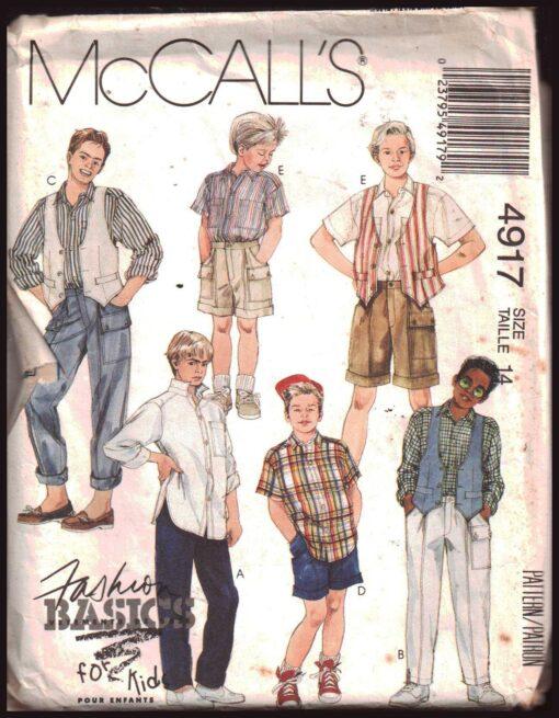 McCalls 4917