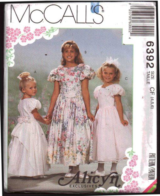 McCalls 6392