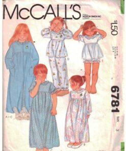 McCalls 6781