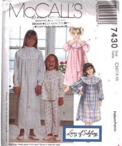 McCalls 7430