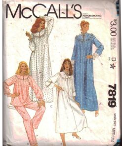 McCalls 7819