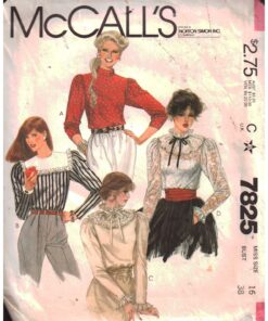 McCalls 7825
