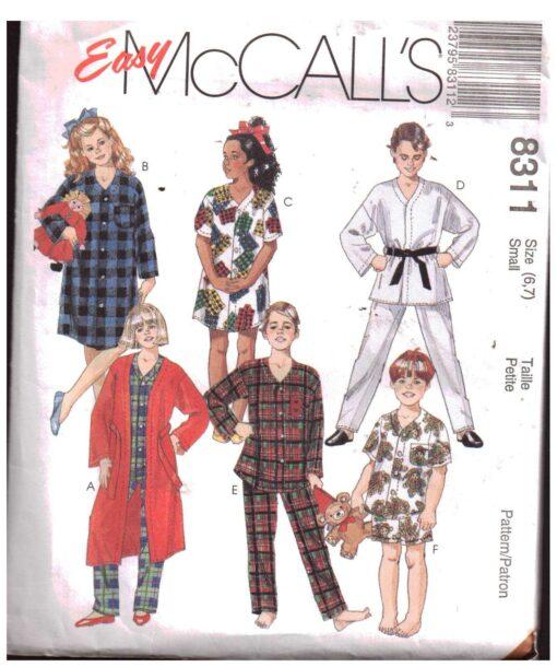 McCalls 8311