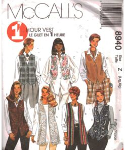 McCalls 8940