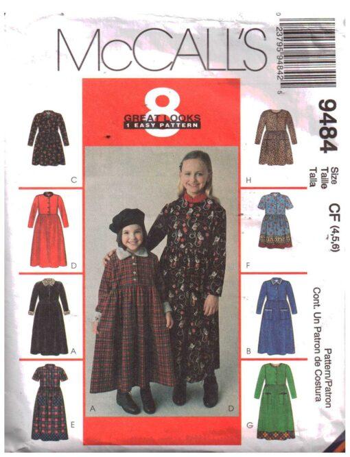 McCalls 9484B