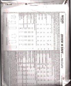 McCalls M4345 1