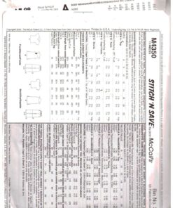 McCalls M4350 1