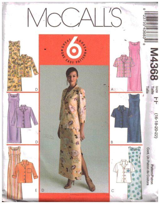 McCalls M4368