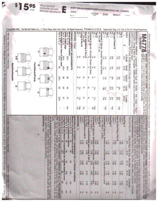 McCalls M4778 1