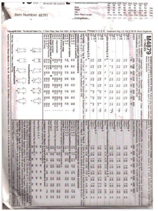 McCalls M4879 1