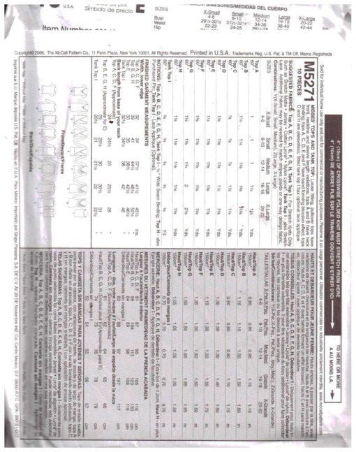 McCalls M5271 1