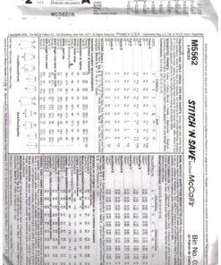 McCalls M5562 1