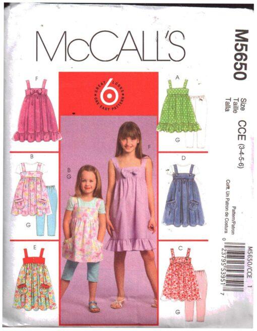McCalls M5650