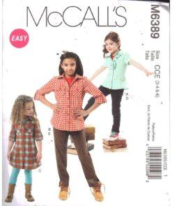 McCalls M6389