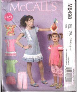 McCalls M6498