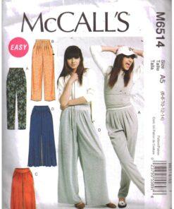 McCalls M6514