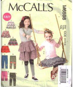 McCalls M6598