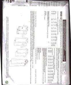 McCalls M6612 1