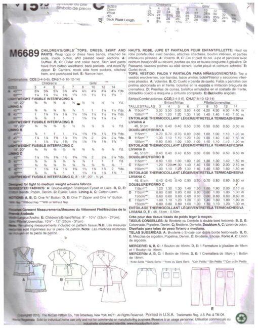 McCalls M6689 1