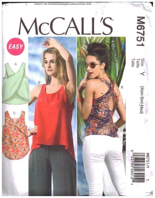McCalls M6751