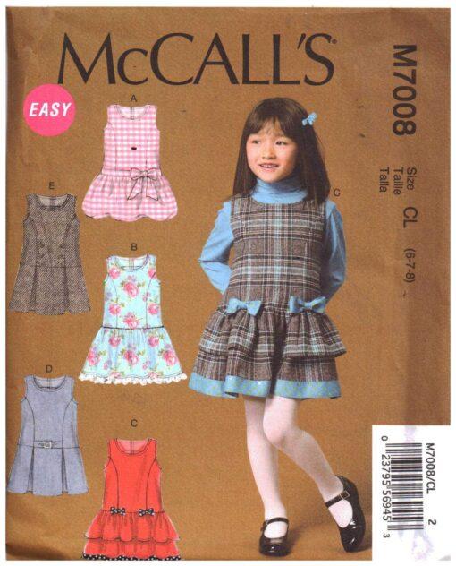 McCalls M7008