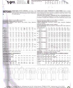 McCalls M7085 1