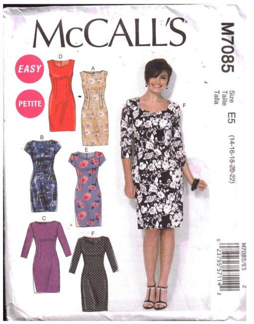 McCalls M7085