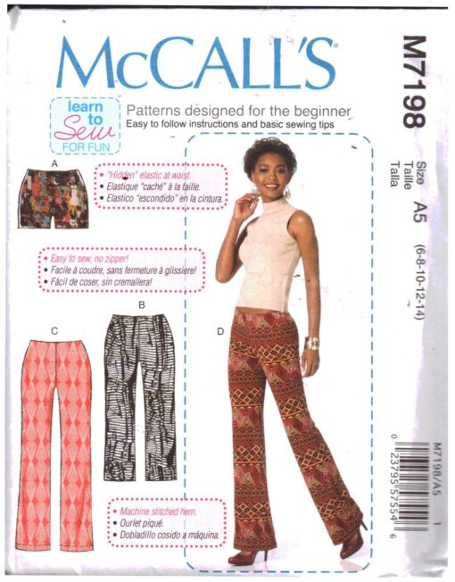 McCalls M7198