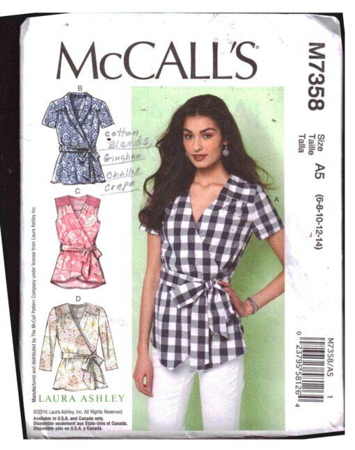 McCalls M7358