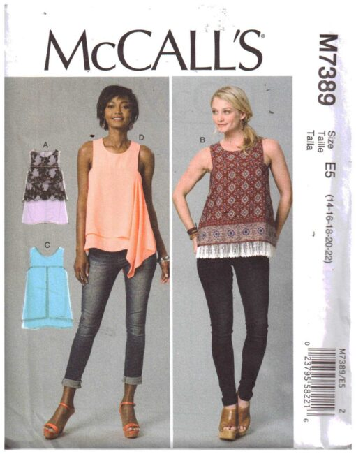 McCalls M7389