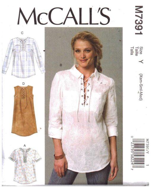McCalls M7391