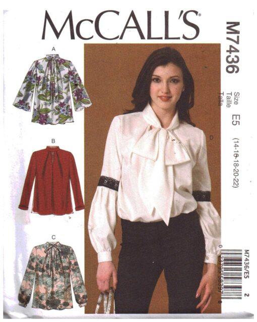 McCalls M7436
